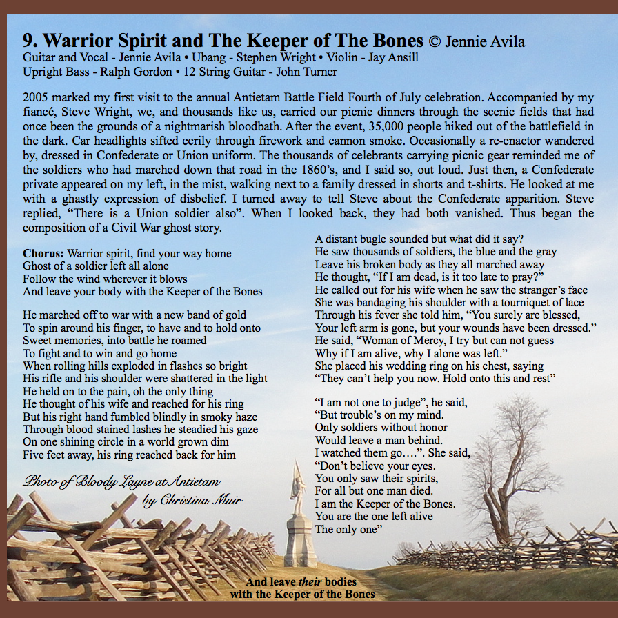 Warrior Spirit and The Keeper of The Bones